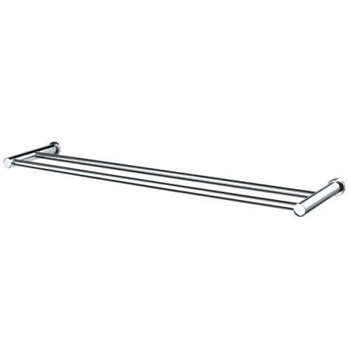 Aquaperl Trend Double towel Rail 600_ 800mm