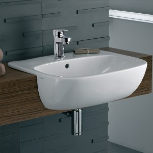 Moda-MD4621WH-semi-recessed-wash-basin