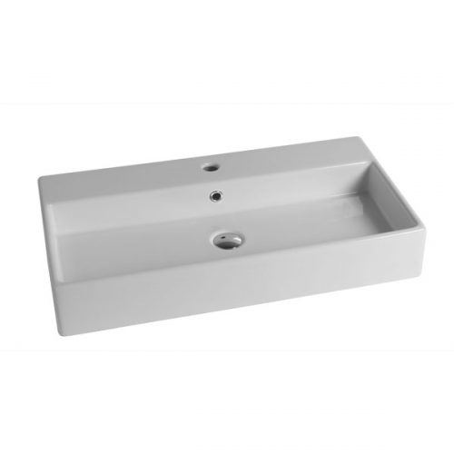 Disgno-Box-80-Countertop-basin-with-taphole-Size-800mm