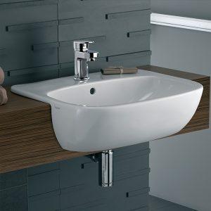 Moda-MD4621WH-semi-recessed-wash-basin